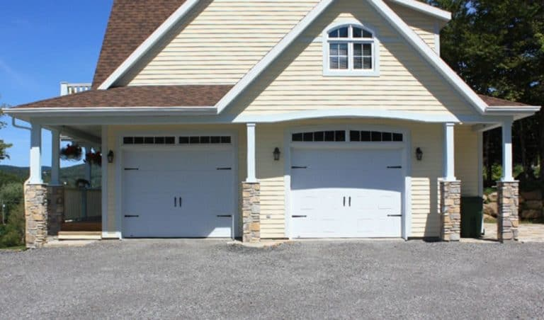 portes de garage dg double laurentides